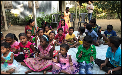The Tea Garden Children Depend Upon the NICCE Foundation